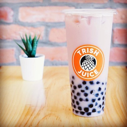 Strawberry Milk Bubble Tea